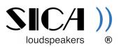 SICA loudspeakers