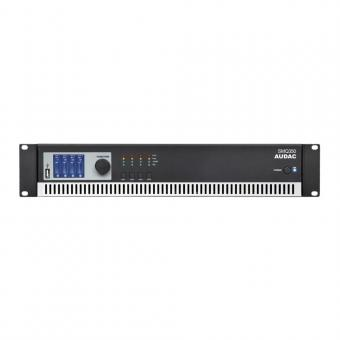 Audac SMQ 350 4 Kanal Digital Endstufe 4 x 350 W
