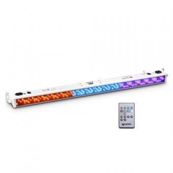 Cameo BAR 10 RGB IR WH 252 x 10 mm LED RGB Colour Bar weiß mit IR-Fernsteuerung