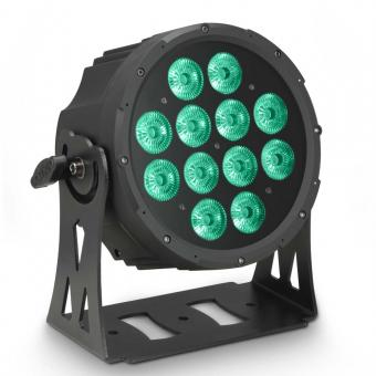 Cameo FLAT PRO 12 12 x 10 W FLAT LED RGBWA PAR Scheinwerfer in schwarzem Gehäuse