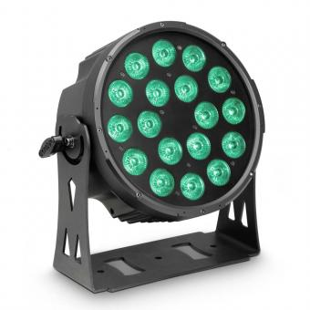 Cameo FLAT PRO 18 18 x 10 W FLAT LED RGBWA PAR Scheinwerfer in schwarzem Gehäuse
