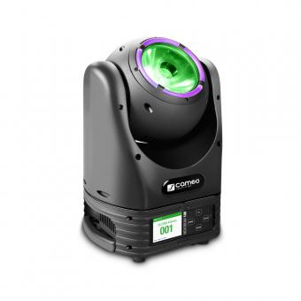 Cameo MOVO® BEAM 100 Beam Moving Head mit LED-Ring und Endlos-Drehung