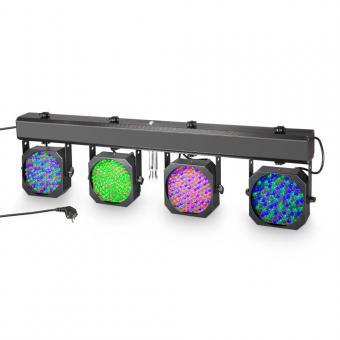 Cameo Multi PAR 1 Kompakte 432 x 10 mm LED Lichtanlage inkl. Transport-Case
