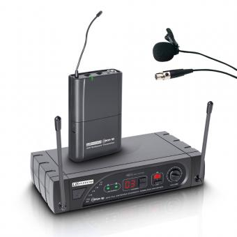 LD Systems ECO 16 BPL Funkmikrofon System mit Belt Pack und Lavalier Mikrofon 16 Kanal