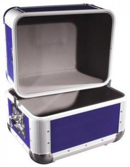 ROADINGER Platten-Case ALU 5050 abgerundet d.blau