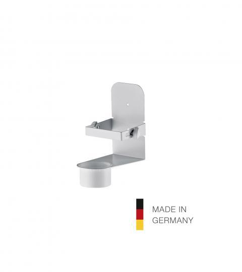 80330 Desinfektionsmittel-Halter reinweiß König & Meyer 80330-000-76