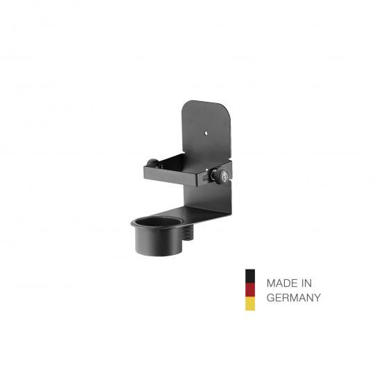 80335 Desinfektionsmittel-Halter schwarz König & Meyer 80335-000-55
