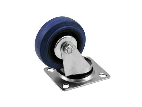 ACCESSORY Lenkrolle 75mm blau