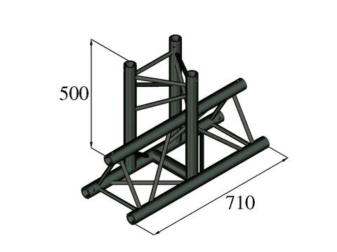 ALUTRUSS TRILOCK S-PAT-35 3-Weg-T-Stück