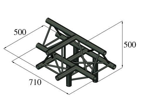 ALUTRUSS TRILOCK S-PAT-43 4-Weg-Stück