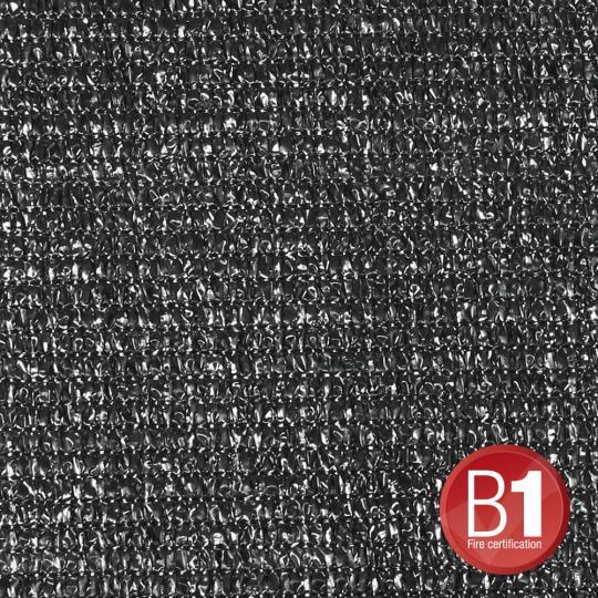 Adam Hall 0155100 B - Gaze Typ 100 unkonfektioniert 3m schwarz