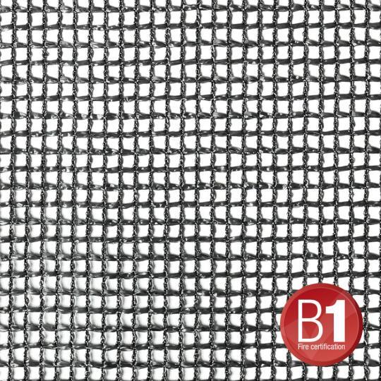 Adam Hall 0156 X 46 B - Gaze Typ 201 4x6m geöst schwarz
