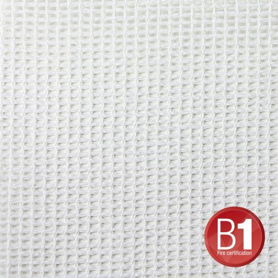 Adam Hall 0157 X 34 W - Gaze Typ 202 3x4m geöst weiß