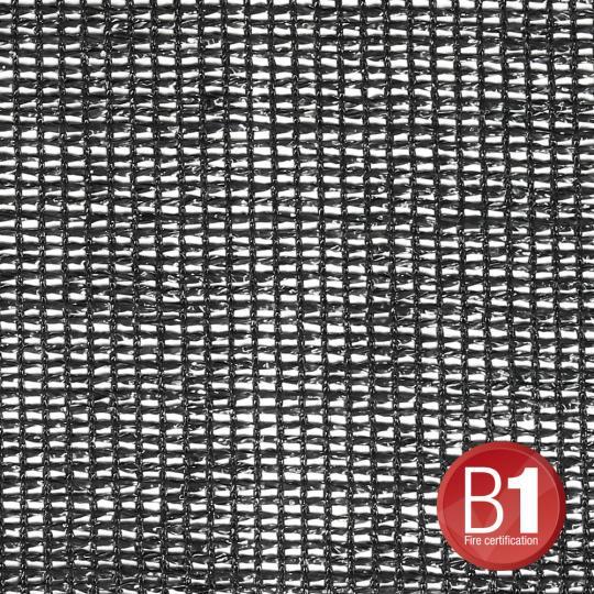 Adam Hall 0157100 B - Gaze Typ 202 unkonfektioniert 3m schwarz