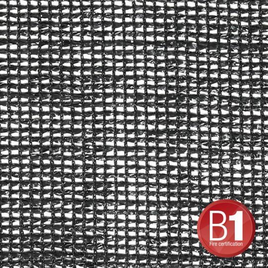 Adam Hall 015850 B - Gaze Typ 203 unkonfektioniert 2m schwarz