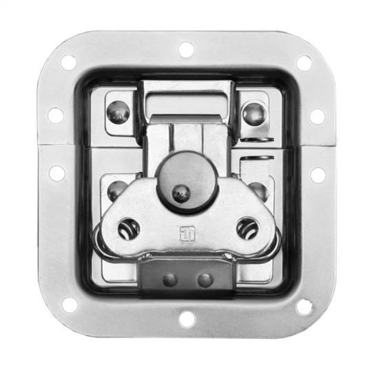 Adam Hall 17285 P - Butterfly Verschluss mittel ungekröpft 9 mm tief mit Öse