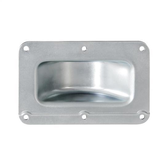 Adam Hall 38081 - Stapel-Einbauschale gekröpft Stahl verzinkt