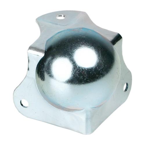 Adam Hall 41262 - Kugelecke mittel mit integrierter L-Ecke 42,5 mm gekröpft 30 mm