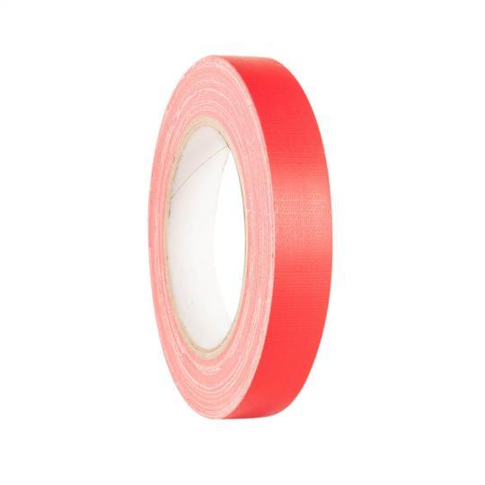 Adam Hall 58064 RED - Gaffer Klebeband Rot 19mm x 25m