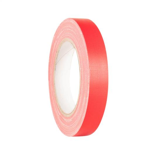 Adam Hall 58064 RED - Gaffer Klebeband Rot 19mm x 25m