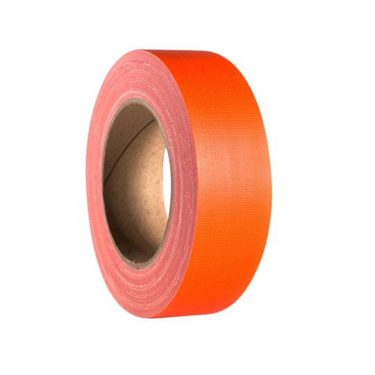 Adam Hall 58065 NOR - Gaffer Klebeband Neonorange 38mm x 25m