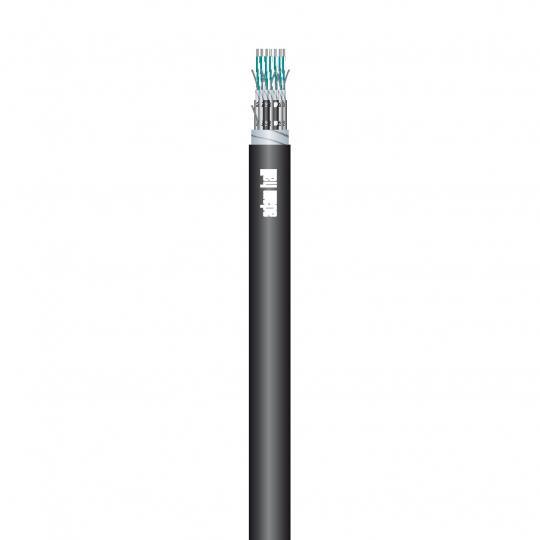 Adam Hall KSC 02 - Multicore-Kabel 2 Kanal 8 x 0,22 mm² mit Nummerncode