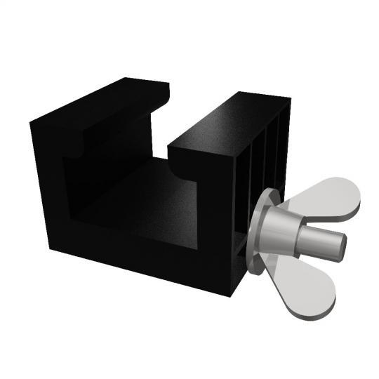 Bütec 4700-001 - Kunststoff-Verbindungsklammer für Bühnenpodeste