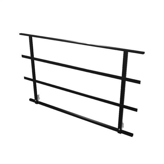 Bütec 5300100200 - Bühnengeländer, Stahl 2 x 1 m
