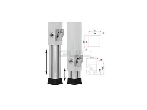 GUIL PTA-44080-140 Teleskopfuß