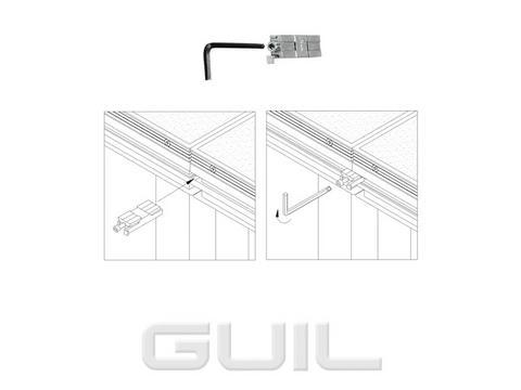 GUIL TMU-01440 Profilverbinder
