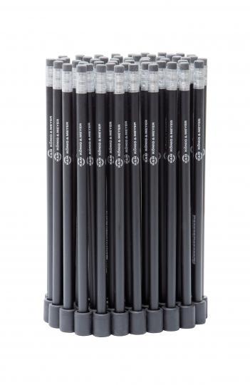 K&M 16099 Haltemagnet mit Bleistift schwarz