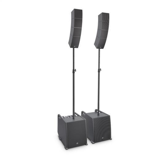 LD Systems CURV 500 PS - Portables Array System Power Set inklusive Distanzstange und Lautsprecherkabel