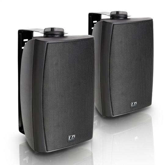 """LD Systems Contractor CWMS 52 B 100 V - 5,25"""" 2-Wege-Wandlautsprecher, 100 V, schwarz (Paar)"""