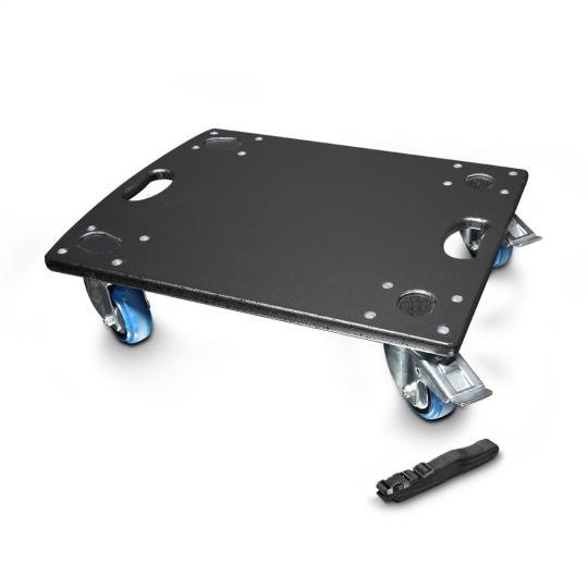 LD Systems DAVE GT 15 CB Rollenbrett für LDDAVE15G3 und LDGTSUB15A incl. Spanngurt