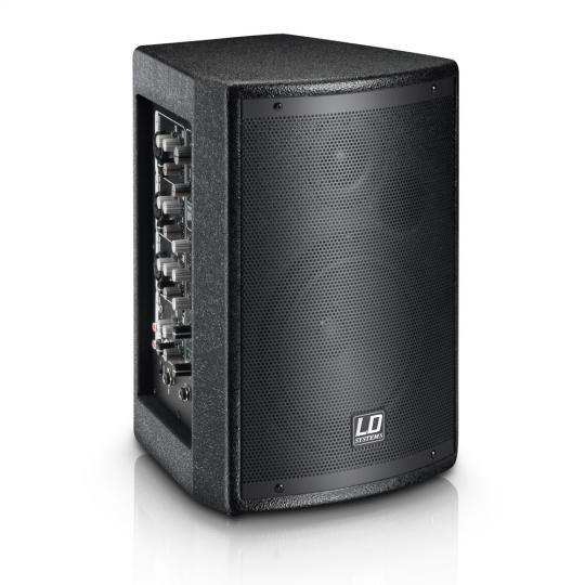 """LD Systems STINGER MIX 6 A G2 6,5"""" PA Lautsprecher aktiv mit integrierter 4-Kanal Mixeinheit"""