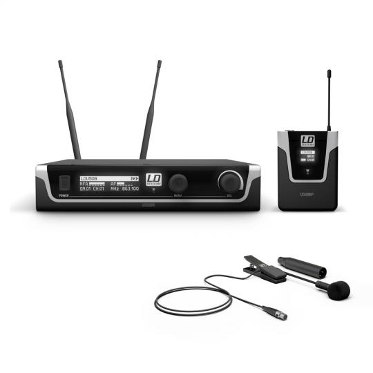 LD Systems U508 BPW - Funkmikrofon System mit Bodypack und Blasinstrumenten Mikrofon