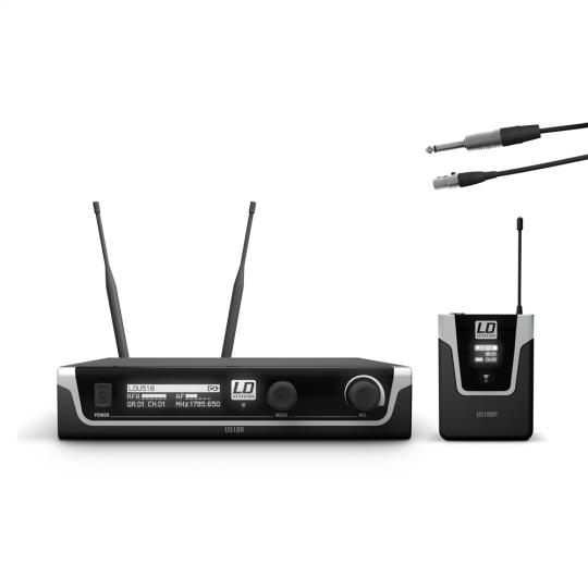 LD Systems U518 BPG - Funksystem mit Bodypack und Gitarren Kabel
