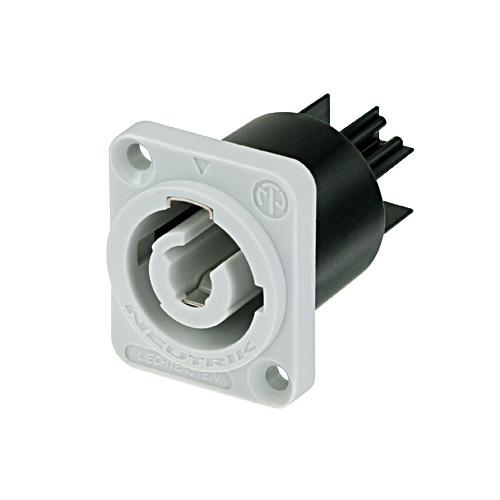 Neutrik C3 MPB-1 - Powercon Buchse grau