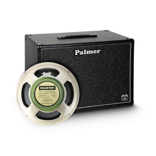 "Palmer CAB 112 GBK - Gitarrenbox 1 x 12"" mit Celestion G 12 M Greenback 8 Ohm"