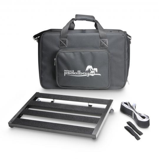 Palmer PEDALBAY® 40 - Variables Pedalboard mit gepolsterter Tragetasche 45 cm