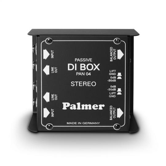 Palmer PAN 04 - DI-Box 2 Kanal passiv